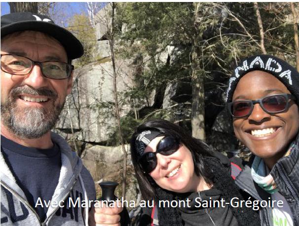 Avec Maranatha au Mont St-Grégoire